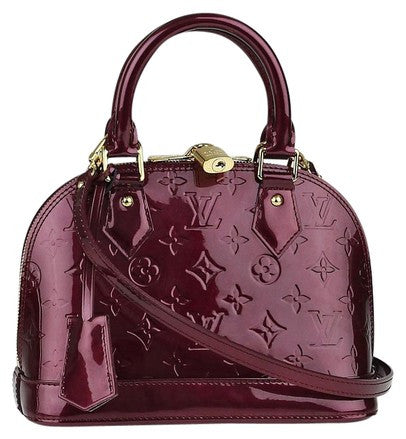 SOLD - Louis Vuitton Alma BB Vernis Bag. Excellent Condition!