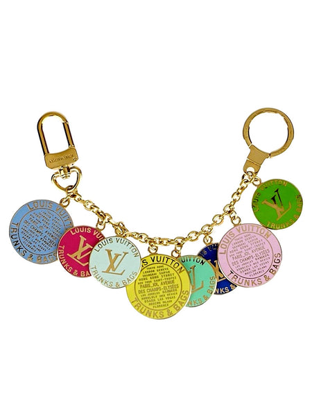 Louis Vuitton Trunks/Bags Multicolore Charms. Beautiful! Coco et Louis