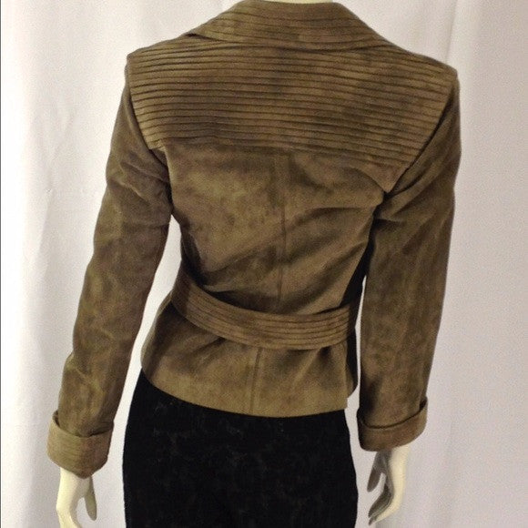 Gucci Belted Jacket. Size 8. Perfect for Fall! Coco et Louis