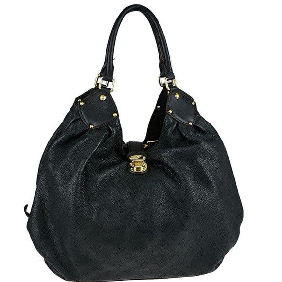 Louis Vuitton Mahina XL Noir Black Bag. Coco et Louis