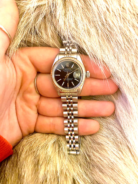 Authentic Pre-Loved Ladies Rolex DateJust 1970's Wristwatch - For Corin Gainey