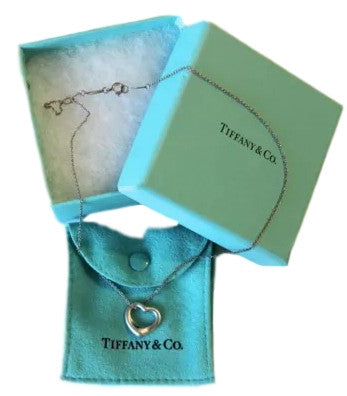 Tiffany & Co Elsa Peretti Open Heart Necklace - Coco et Louis - 1