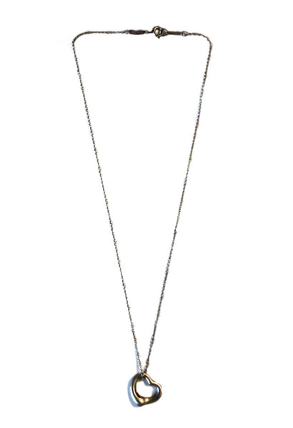 Tiffany & Co Elsa Peretti Open Heart Necklace - Coco et Louis - 3