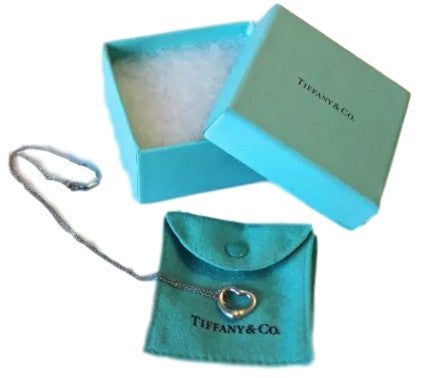 Tiffany & Co Elsa Peretti Open Heart Necklace - Coco et Louis - 4