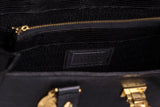 Gianni Versace Black Leather Iconic Bag. Couture! Coco et Louis