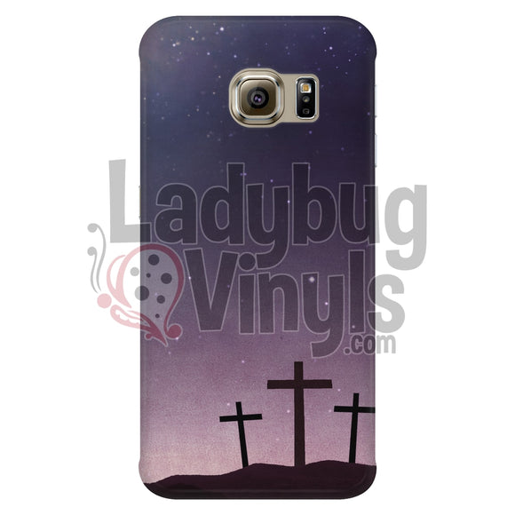 3 Crosses Phone Case - LadybugVinyls
