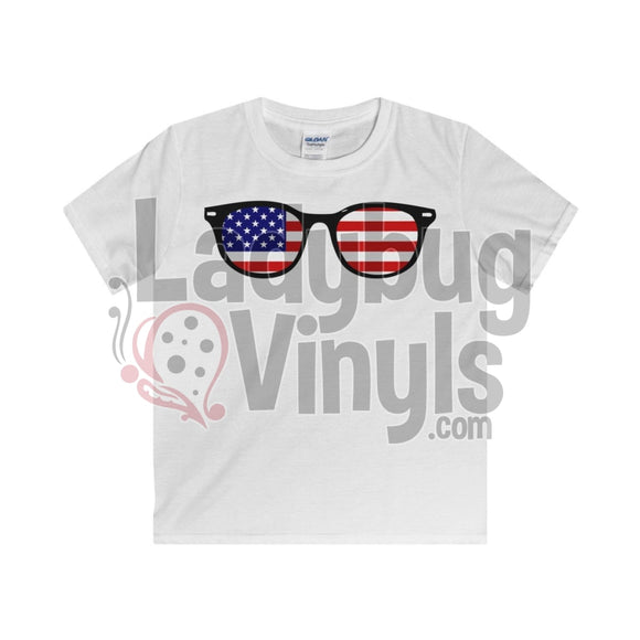 4th of July Boy's T-Shirt - LadybugVinyls