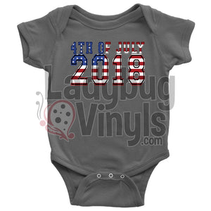 4th of July Onesie - LadybugVinyls