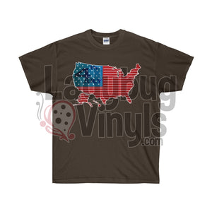 4th of July Ultra Cotton T-Shirt - LadybugVinyls