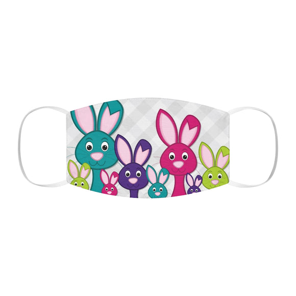 Bunny Snug-Fit Polyester Face Mask