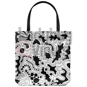 Abstract Tote Bag - LadybugVinyls