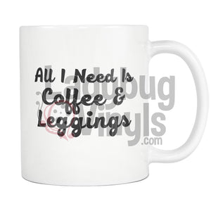 All I Need is Coffee Mug - LadybugVinyls