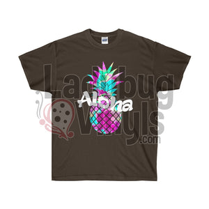 Aloha Pineapple Ultra Cotton T-Shirt - LadybugVinyls