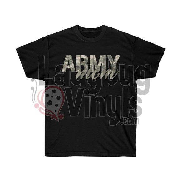 Army Mom Ultra Cotton T-Shirt - LadybugVinyls