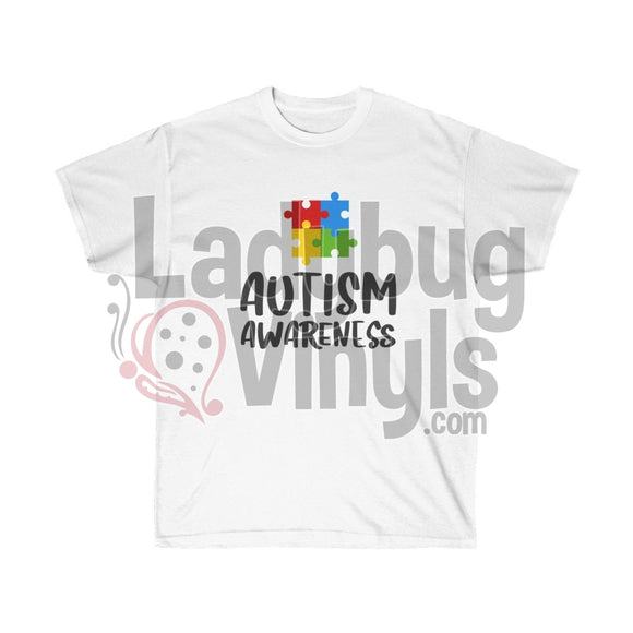 Autism Awareness Ultra Cotton T-Shirt - LadybugVinyls