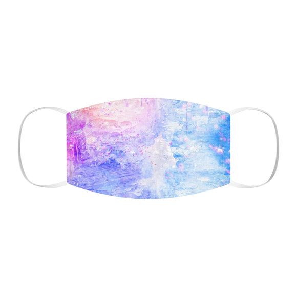 Watercolor Snug-Fit Polyester Face Mask