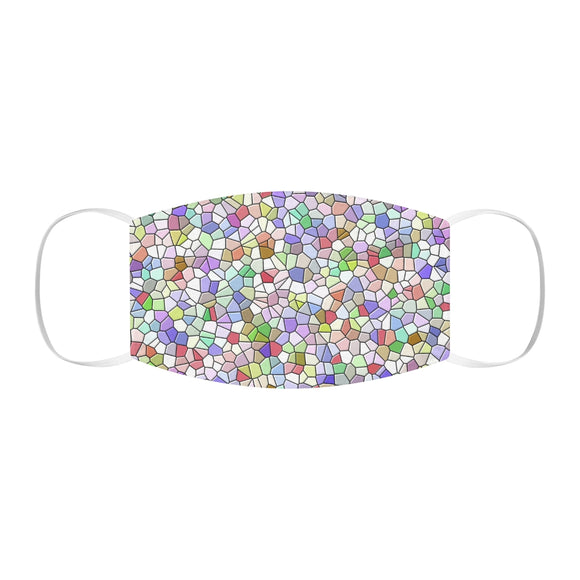 Mosaic Snug-Fit Polyester Face Mask