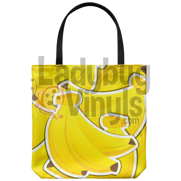 Bananas Tote Bag - LadybugVinyls