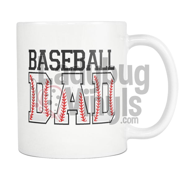 Baseball Parents 11oz Coffee Mug - LadybugVinyls