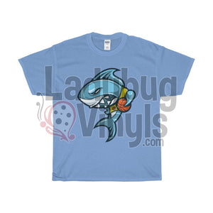 Basketball Shark Men's T-Shirt - LadybugVinyls