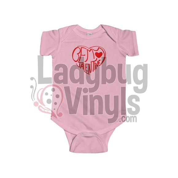 Be My Valentine Onesie - LadybugVinyls
