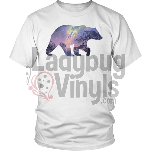 Bear Nigh Sky Men's T-Shirt - LadybugVinyls