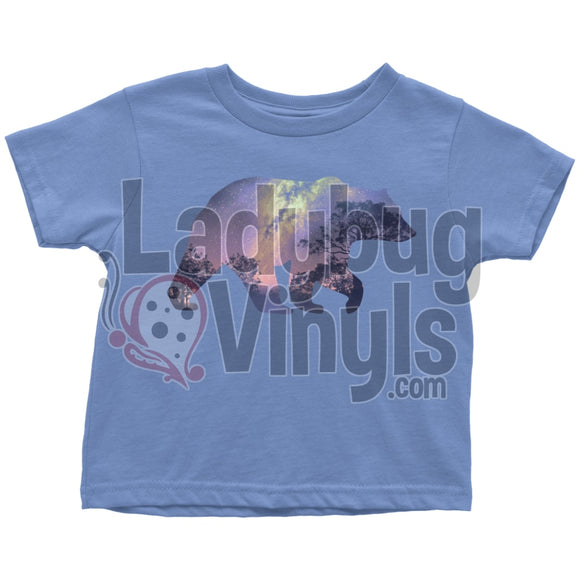 Bear Nigh Sky Toddler T-Shirt - LadybugVinyls
