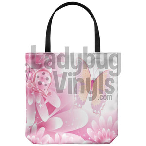 Beautiful Butterfly Tote Bag - LadybugVinyls