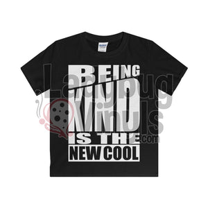 Being Kind Is The New Cool Boy's T-Shirt - LadybugVinyls