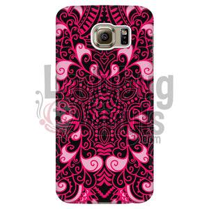 Black and Pink Mandala - LadybugVinyls