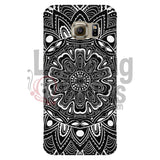 Black and White Mandala Phone Case - LadybugVinyls