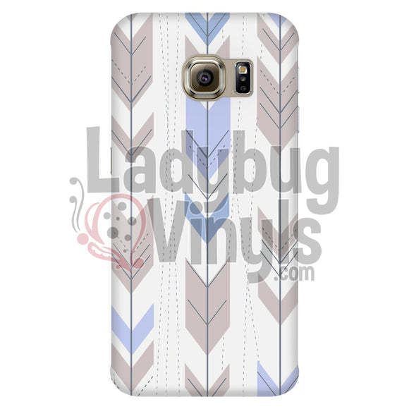 Blue and Grey Arrow Phone Case - LadybugVinyls