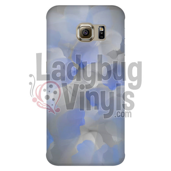 Blue and Grey Watercolor Phone Case - LadybugVinyls
