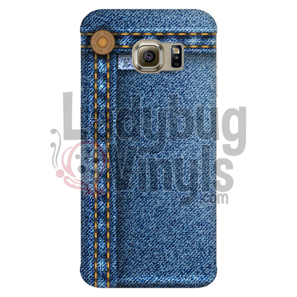 Blue Jean Phone Case - LadybugVinyls
