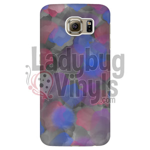 Blue, Pink, and Grey Watercolor Phone Case - LadybugVinyls