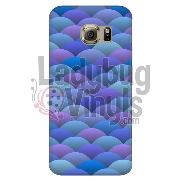 Blue Scales Phone Case - LadybugVinyls