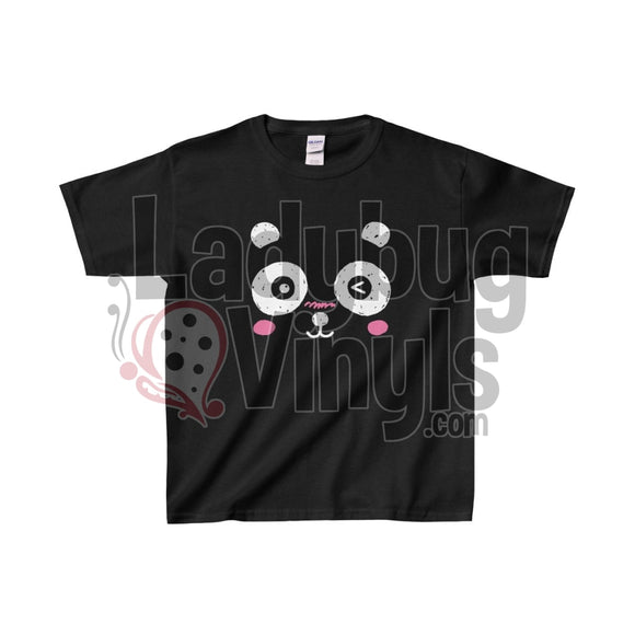 Blushing Panda Kids Heavy Cotton™ Tee - LadybugVinyls
