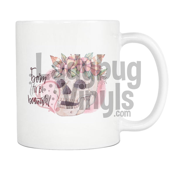 Born To Be Beautiful (BOHO) Mug - LadybugVinyls