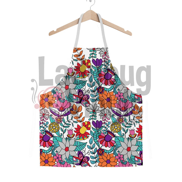 Bright Flowers Classic Sublimation Adult Apron - LadybugVinyls