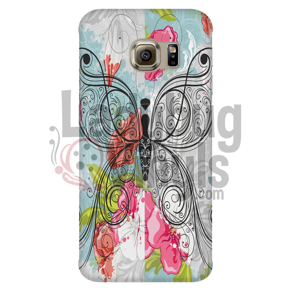 Butterfly Sketch Phone Case - LadybugVinyls