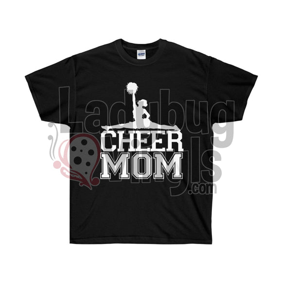 Cheer Mom Life Ultra Cotton T-Shirt - LadybugVinyls