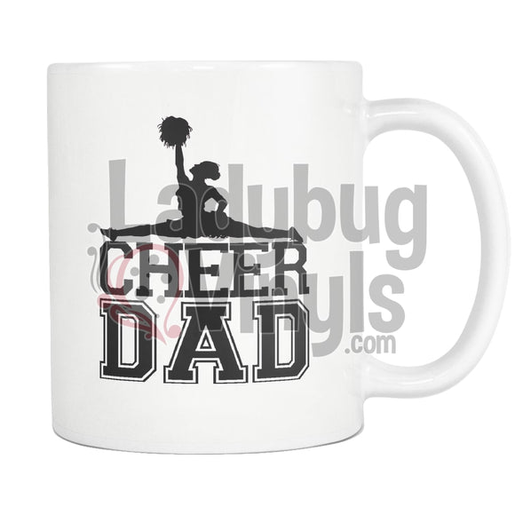 Cheer Parent 11oz Coffee Mug - LadybugVinyls