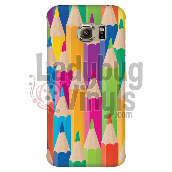 Colored Pencil Phone Case Galaxy S6 Edge Cases