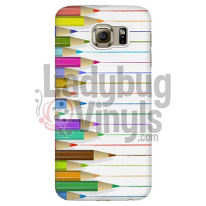 Colored Pencils Phone Case Galaxy S6 Edge Cases