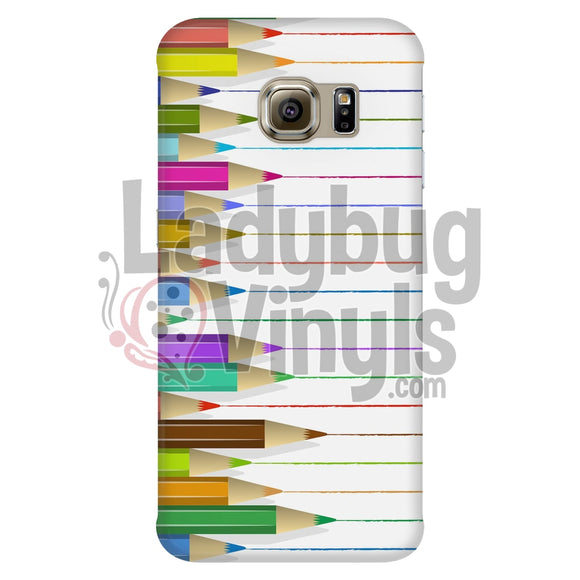 Colored Pencils Phone Case - LadybugVinyls