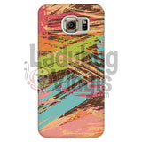 Colored Slash Phone Case Galaxy S6 Cases