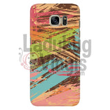 Colored Slash Phone Case Galaxy S7 Cases