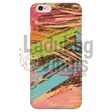 Colored Slash Phone Case Iphone 7/7S Cases