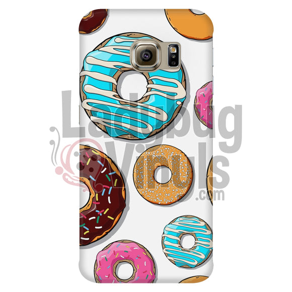 Donut Phone Case (White) Galaxy S6 Edge Cases