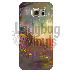 Forest Painting Phone Case Galaxy S6 Edge Cases